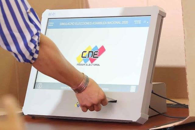 Venezuela realiza segundo simulacro de cara a las elecciones del 6D