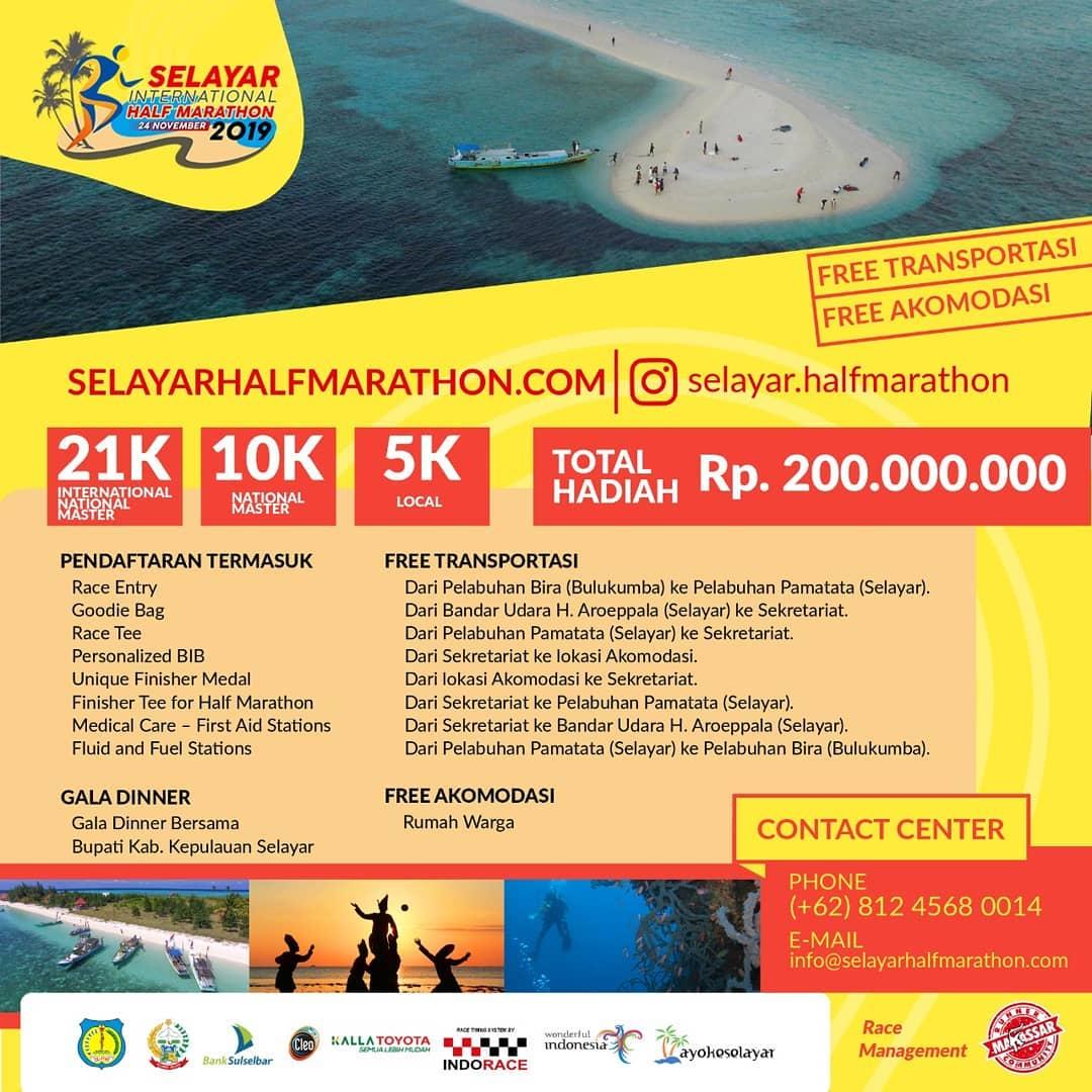 Selayar International Half Marathon • 2019