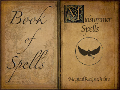 Book of Spells Litha Magic Midsummer
