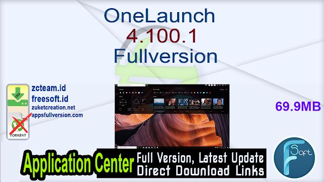 OneLaunch 4.100.1 Fullversion