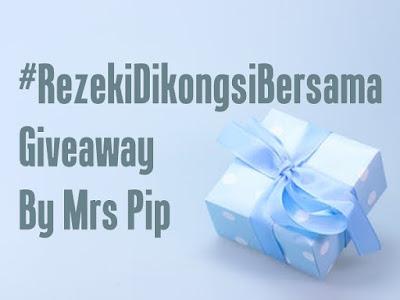 http://www.mrspip.com/2019/02/rezekidikongsibersama-giveaway-by-mrspip.html
