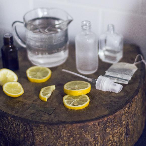 """DIY: Cách làm xịt khoáng cây chè trị mụn """"siêu hiệu quả"""""""