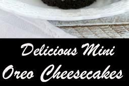 Delicious Mini Oreo Cheesecakes