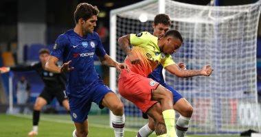 ملخص واهداف مباراة مانشستر سيتي وتشيلسي (1-2) الدوري الانجليزي
