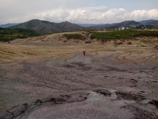 """Vulcanii Noroioși de la Pâclele Mari, Buzău, Muntenia 2014 """"Mud Vulcanoes - Large Gloom""""(situated in the sub-carpathians at Buzău, Muntenia 2014"""