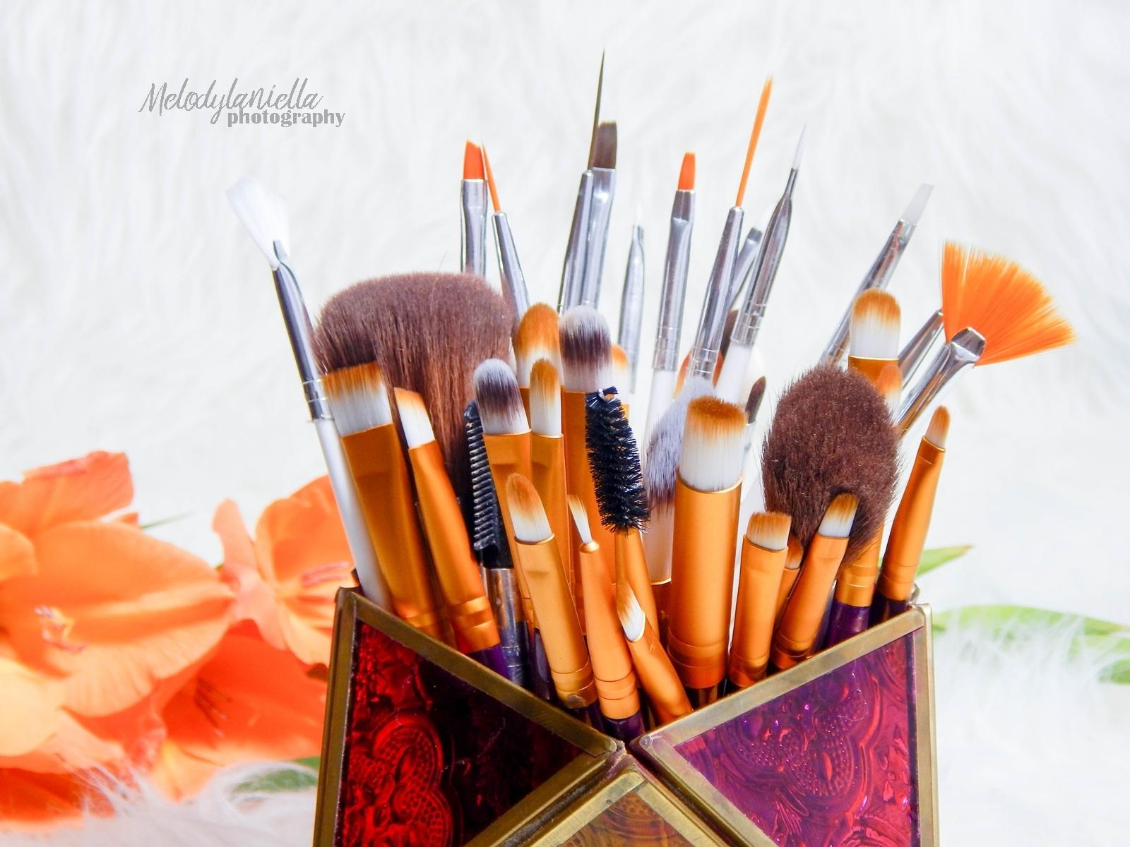 008 chińskie pędzle do makijazu gamiss makeup brushes czy warto kupować w chińskich sklepach melodylaniella