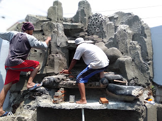 Jasa Tukang Relief Dinding Buatan Bogor