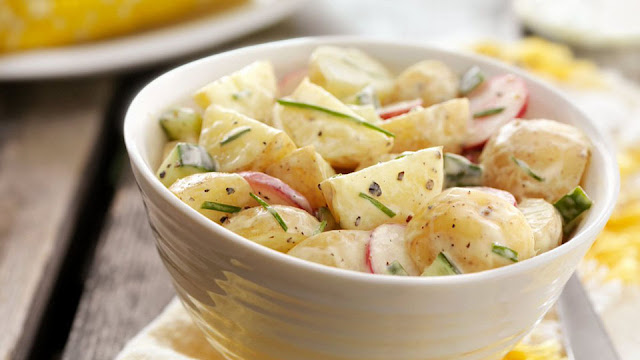 Kartoffelsalat – Salad khoai tây