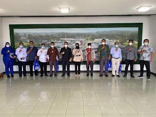 Konsultasi dan Kordinasi tentang Pembangunan SPAM, Direksi PDAM Tirtanadi Terima Kunjungan Anggota DPRD Kabupaten Samosir