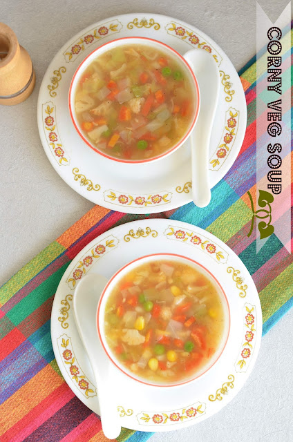 how to make corn veg soup for weight loss