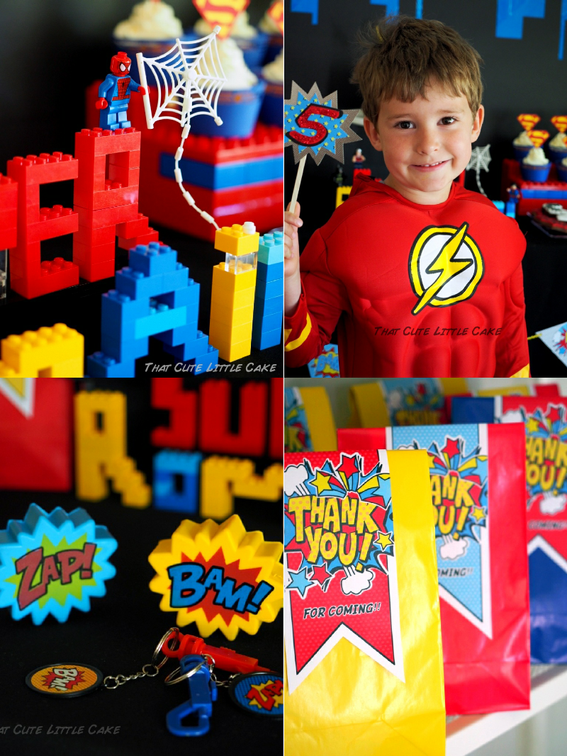 A Pow Wow Superhero Birthday Party Party Ideas Party