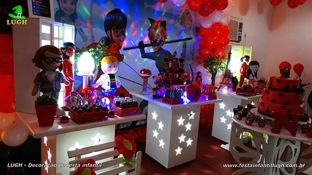 Miraculous Ladybug - Decoração festa de aniversário infantil