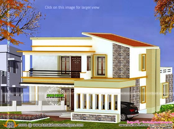3D view house