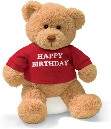 Sweet Happy Birthday Teddy Bear Picture