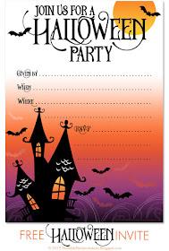 free halloween invitation templates