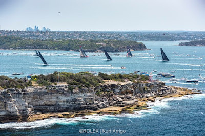 Top départ de la Sydney Hobart  2019