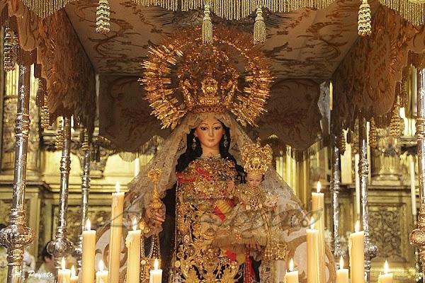El Carmen de San Cayetano solicitará permiso al Ayuntamiento la semana próxima para sacar a la Virgen en procesión en su paso o en andas
