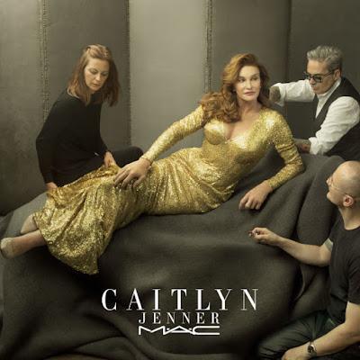 Caitlyn Jenner x MAC. Photo: MAC Cosmetics