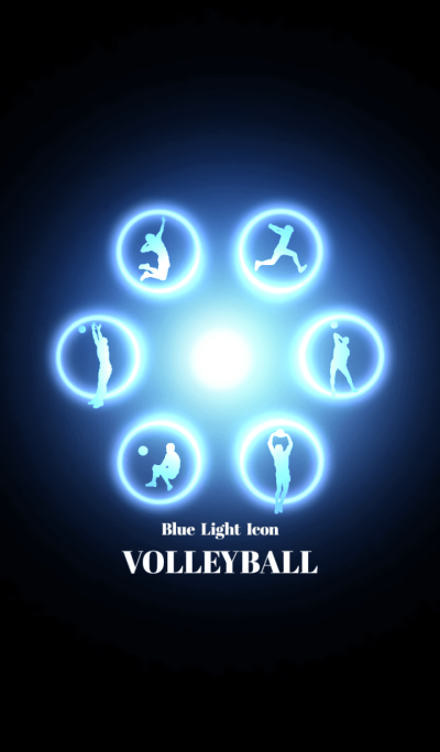 Blue Light Icon VOLLEYBALL