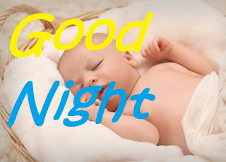 good night cute baby pic for girlfriend