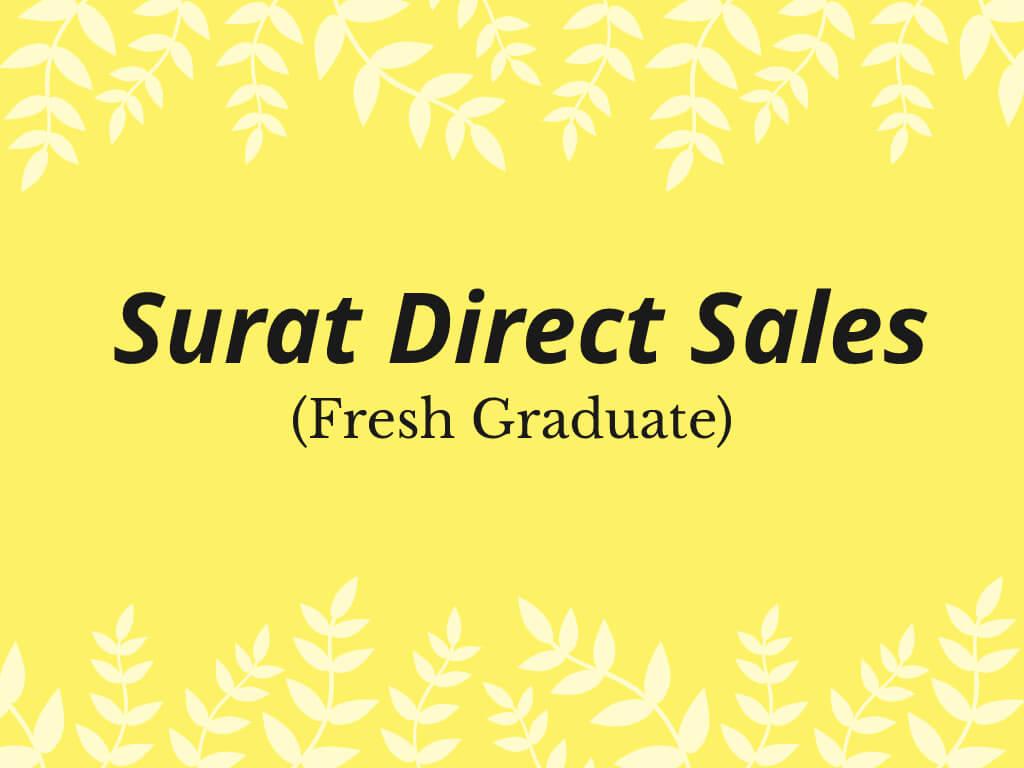 Contoh Surat Lamaran Pekerjaan Untuk Direct Sales (Fresh Graduate)