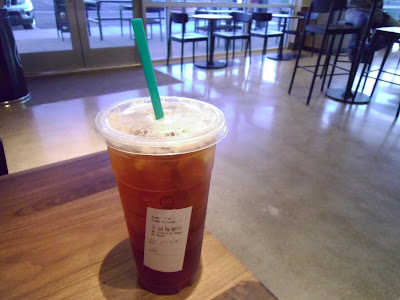 Starbucks Trenta Iced Black Tea Refill