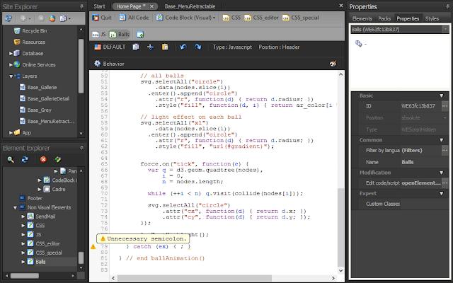 html code editor openelement