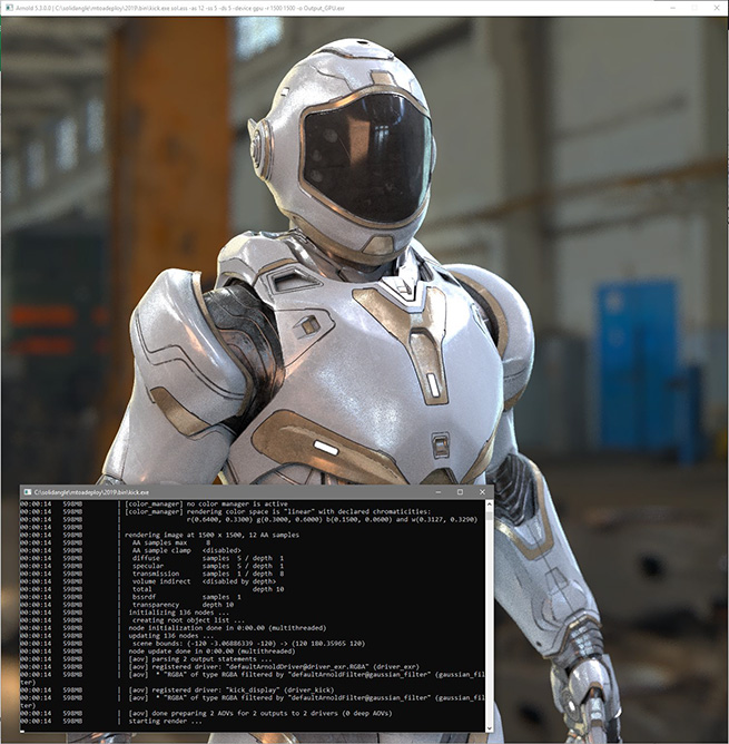 2nd generation Ray Tracing processor