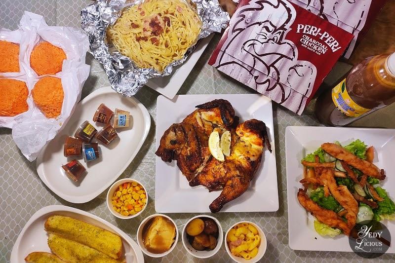 Peri Grupo Feast at Peri-Peri Charcoal Chicken and Grill, Manila Philippines