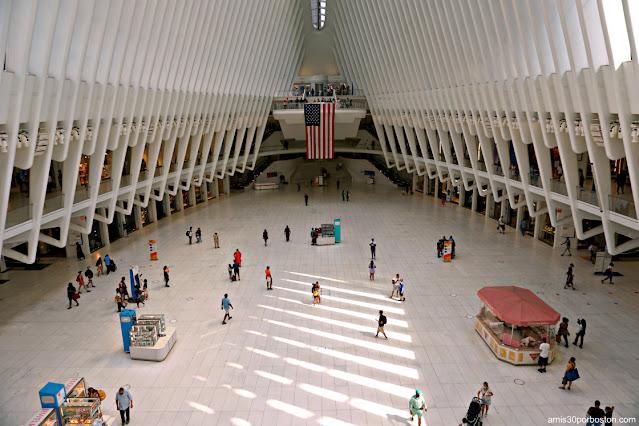 Oculus de Santiago Calatrava en Nueva York