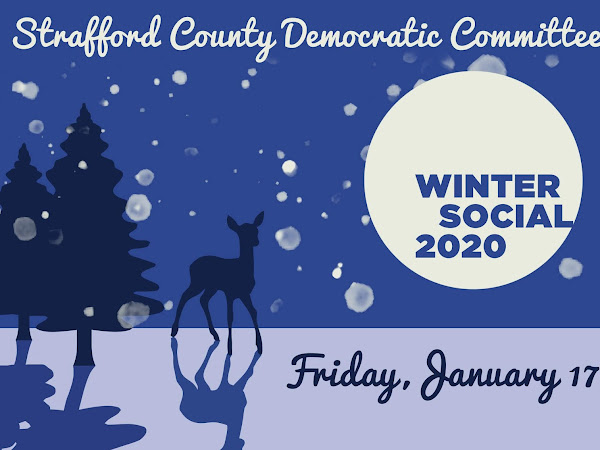 Save The Date! @SCDCNHDems Winter Social January 17th, Rochester