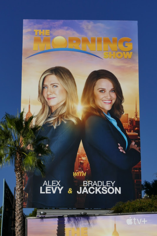 Morning Show Jennifer Aniston Reese Witherspoon billboard