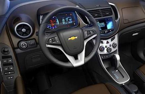 2017 Chevrolet Captiva Interior