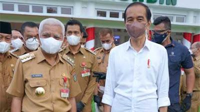 Bupati Asahan Hadiri Kunjungan Presiden Jokowi ke Sumatera Utara