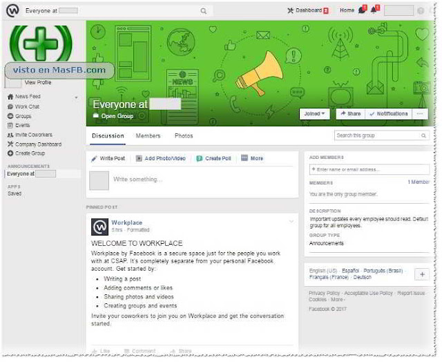 Facebook Workplace - MasFB