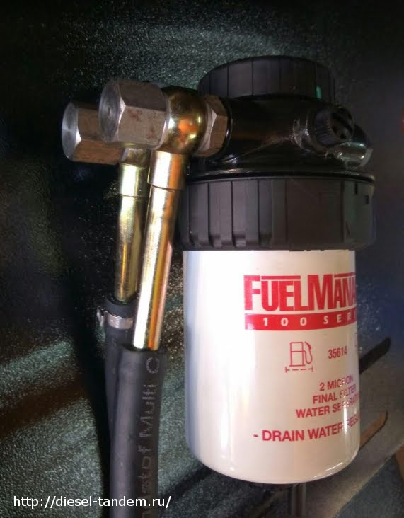 Купить дополнительный топливный фильтр для дизеля