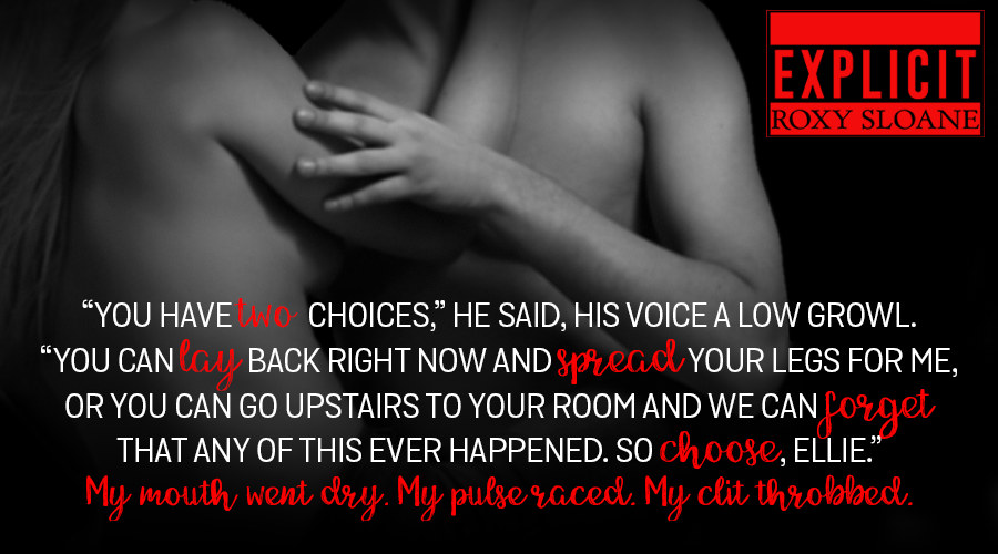 explicit by roxy sloane reviews from the heart