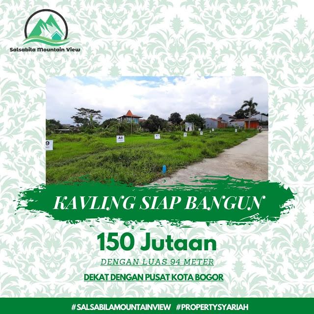 Salsabila Mountain View, Perumahan Syariah dekat Kota Bogor