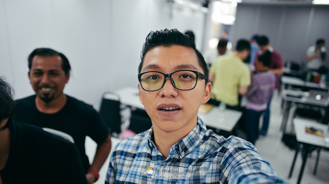 Selfie test using some Nikkor Lens