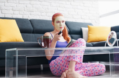 images While Watching TV, Make the Most of Your Time With These 4 Simple Body Treatments