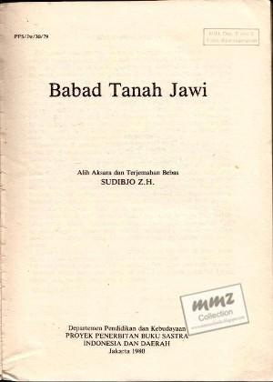 BUKU BABAD TANAH JAWI PDF WRITER EBOOK DOWNLOAD