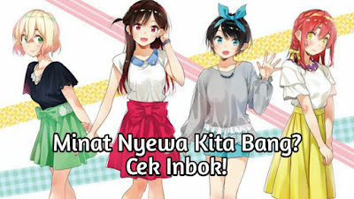 Kapan Anime Kanojo Okarishimasu Tayang di Muse Indonesia?