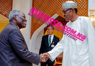 W. F kumuyi with president Buhari