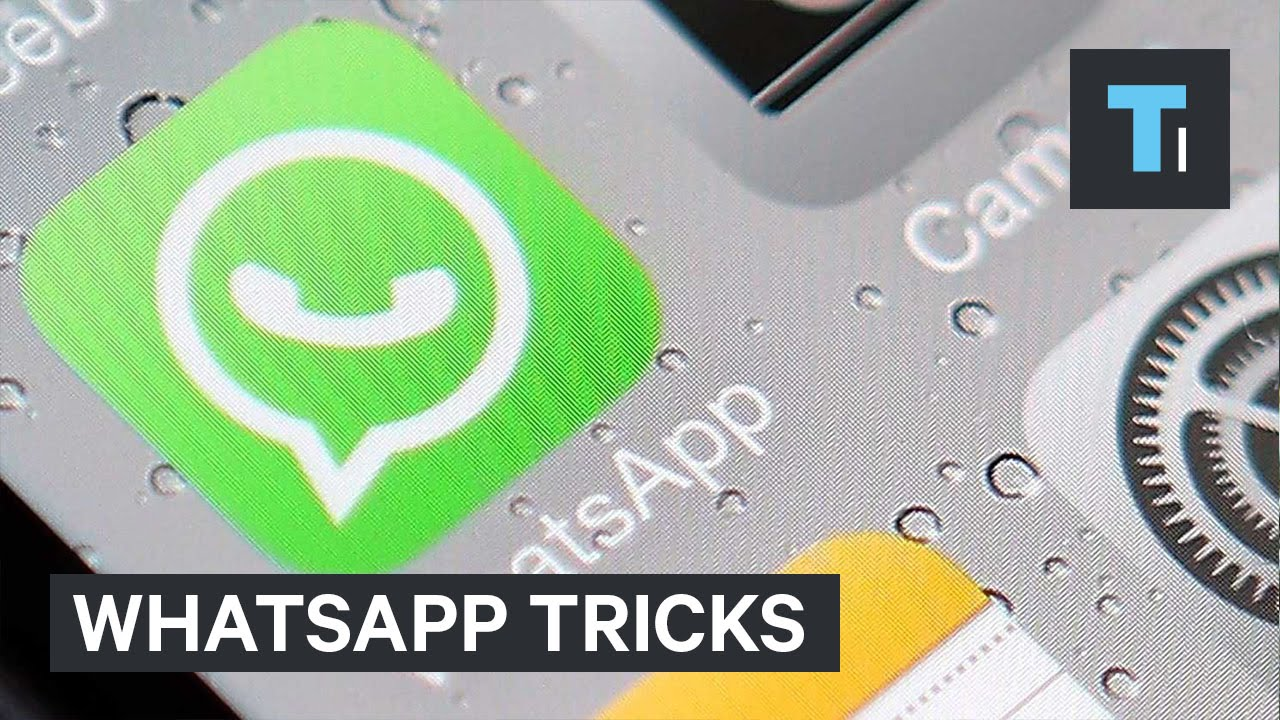 WhatsApp tricks [video]