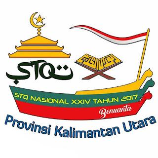 Logo STQ Nasional Ke XXIV Tahun 2017 Tarakan