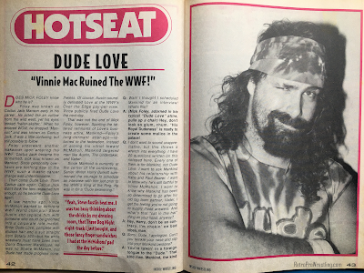 "Inside Wrestling  - November 1998 -  Dude Love Interview: ""Vince McMahon Ruined the WWF"""