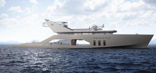 Tinuku.com Super Yacht 108M Mono Hull Klasik dari Hareide Design dan Pantai Pribadi