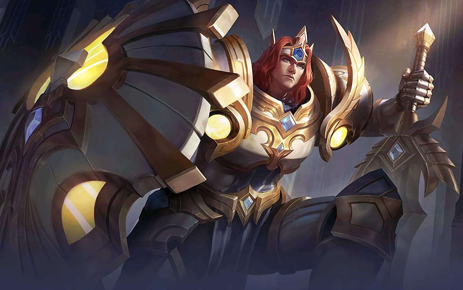 Wallpaper Tigreal Lightborn Defender Skin Mobile Legends HD for PC