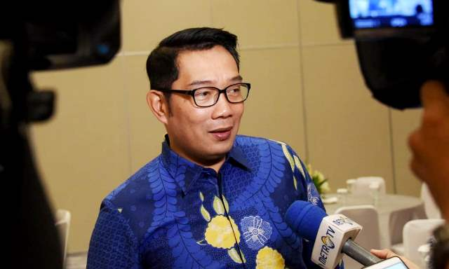Cedera Lutut Jadi Alasan Ridwan Kamil Bangun Kolam Renang di Rumah Dinas