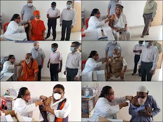 जिले में व्दितीय चरण का कोविड-19 टीकाकरण शुरु